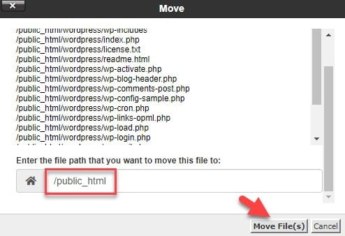 ساخت سایت - انتقال فایل ها در cPanel