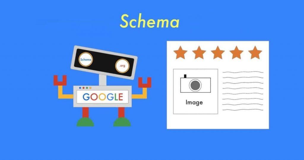 کدهای نشانهگذاری اسکیما یا Schema