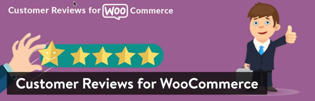 افزونه Customer Reviews for WooCommerce
