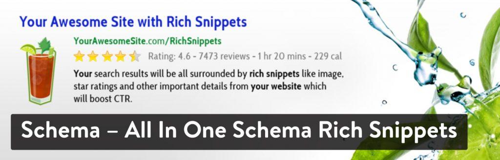 Schema – All In One Schema Rich Snippets